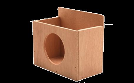 קופסא לנייר טואלט חתוך